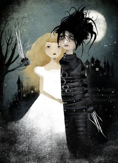 Edward Scissorhands 56/100  Deluxe Edition by TheNebulousKingdom, $30.00.....I <3 This!!!
