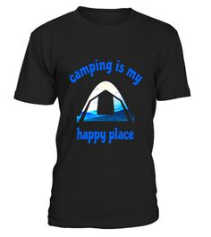 "# CAMPING IS MY HAPPY PLACE FUN OUTSIDE LOVERS T SHIRT .  Special Offer, not available in shops      Comes in a variety of styles and colours      Buy yours now before it is too late!      Secured payment via Visa / Mastercard / Amex / PayPal      How to place an order            Choose the model from the drop-down menu      Click on ""Buy it now""      Choose the size and the quantity      Add your delivery address and bank details      And that's it!      Tags: T-SHIRT FEATURES TENT WITH A…"