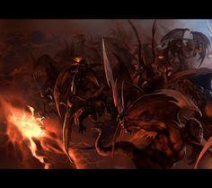 108 best angels demons images fantasy art fantasy angels demons - Free evil angel pictures ...