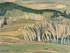 Spring, Caribou Country, 1949 - A.Y. Jackson (1882–1974)