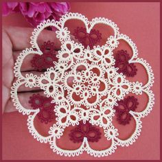 Tatted doily by Murphy's Designs