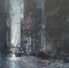 Bryan Mark Tyler Untitled oil