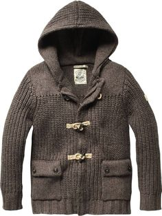 scotch and soda - Outdoor cardigan with toggles - charcoal melange - 6