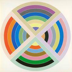 """Frank Stella, """"Stinjerli II"""" (1967) #art"""