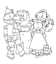 Free Dearie Dolls Digi Stamps: Off to see the Wizard....