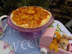 Maryjosecakes: Tartaleta de hojaldre con crema de vainilla y plát...