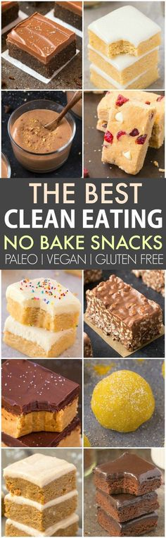 Clean Eating Healthy No Bake Snacks (V, GF, P, DF)- Quick, easy and healthy no bake snacks which take minutes and are protein packed sugar free! {vegan, gluten free, paleo recipe}- thebigmansworld.com