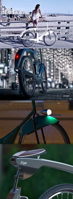 The 'Vispa eBike' combines a bit of nostalgic appeal with modern e-drive tech, breathing new life into the Piaggio brand... READ MORE at Yanko Design !