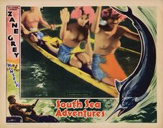 Lobby Card from the film South Sea Adventures