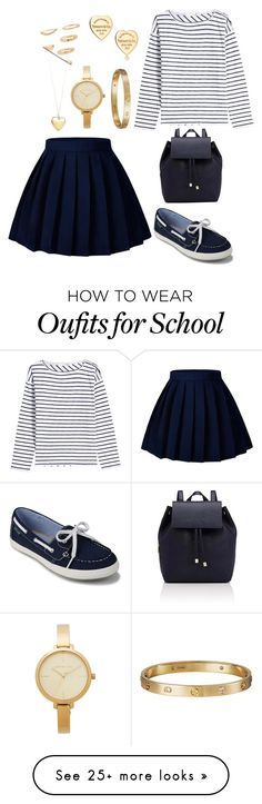 """""""blue"""" by eboony800 on Polyvore featuring rag & bone, Eastland, Barneys New York, Michael Kors, Cartier, Tiffany & Co. and Forever 21"""