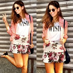 Look The Finds - saia evasê - wish - pink