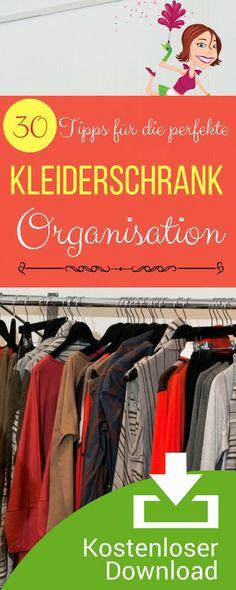 Amazing Checkliste Kleiderschrank perfekt einr umen und neu organisieren
