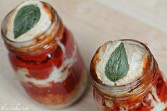Pizza in a jar!