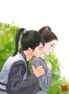 "Moon lovers"" Scarlet Heart:Goryeo Wang So and Hae Soo. Moon Lovers : Scarlet Heart Ryeo (3-DVD Version, Korean Drama w. English Sub) at Amazon. http://amzn.to/2lWQNc2"