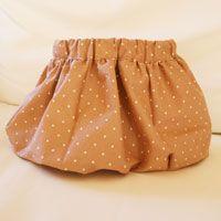 bubble skirt free pattern