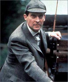 Inspiring actor Jeremy Brett. Love his Sherlock Holmes!