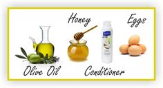 1. Olive Oil, Honey, Conditioner and Eggs Pre-poo Recipe:        In a bowl mix one or two eggs, a table spoon of honey, two table spoons of olive oil and enough conditioner to keep the mixture easy to spread. If you have fine hair or hair prone to breakage, a little protein weekly will do nothing but good for your strands.