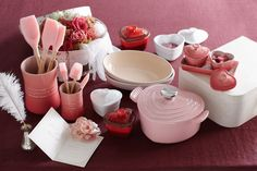 Le Creuset LOVE! Hearts & pinks? You can't go wrong!!