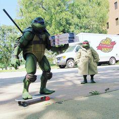 Ninga Turtles, Tmnt Turtles, Ninja Turtle Drawing, Turtle Names, Green Warriors, Cartoon Posters, Custom Action Figures, Special Delivery, Classic Cartoons