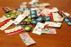 Fabric stickers by mairuru_siesta, via Flickr