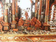 Corallo (103)sculture in corallo -Presepe Trapani DOPO IL RESTAURO