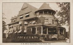 J.D. Oliver Residence - South Bend, Indiana