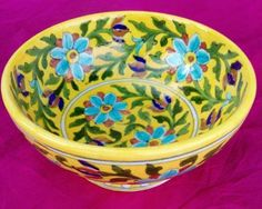 For Buying beautiful Blue pottery Bowl, Contact to Shivkripa bluepottery. CALL US: 9928943322