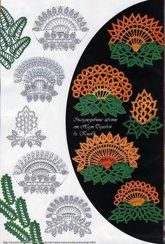 Crochet Knitting Handicraft: Exclusive flowers from Nellie Nightingale