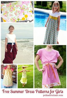 Summer Dress Patterns to Sew for Girls