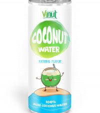 OEM Coconut water 250ml Aluminium can Natural Coconut water - OEM Beverage Manufacturers NFC