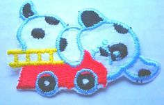 Baby Patch Puppy Fire Engine Firefighter Dog Dalmatian Black White Spot Spots Pup Red Iron On Applique Embroidered Cute Sew Pcs Badge Patches Craft Girl Mix Appliques 5 4 Infant Diy Garment Sewing 2 New Jacket Patches Emblem Upick Nation Trim X3 Standard Logo Motif Appliques Cloth Embroidery Trim Embellished Embellishments Embroider Embellish Style Colorful Added Addition -- Want additional info? Click on the image.