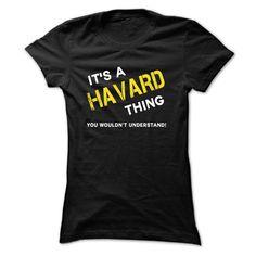 Awesome HAVARD Shirt