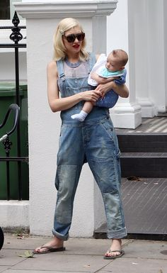 We found Gwen Stefani's overalls -- Get 'em on SHEfinds.com.