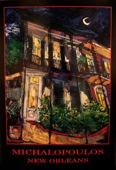 Prints & Posters - Michalopoulos Gallery New Orleans: Original Oil Paintings Louisiana Art, Poster Prints, Posters, New Orleans, Eye Candy, Illustration Art, Abstract, Gallery, Artist