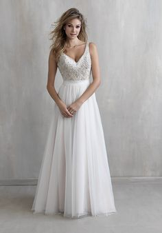 Madison James MJ209 Wedding Dress - The Knot