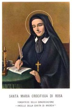 Image of St. Mary Di Rosa feast day 15th December pray for us.