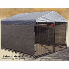 Lucky Dog Winter Screen Kit Side Cloth 5 Ft H X 25 Ft L At Tractor Supply Co Dog Kennel Cover Dog Kennel Dog Spaces