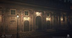 ArtStation - Assassin's Creed Syndicate - Bank of England - Textures, Bruno Morin