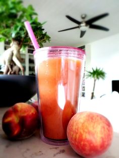 Pure Power Panda: Summer of Smoothies: Peachy POW-WOW!