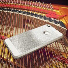 Huawei P8 Lite 2017 Hülle Handyhülle von NICA, Glitzer Hard-Case Back-Cover Schutzhülle, Handy-Tasche im Glitter Sparkle Design, Dünnes Bling Strass Etui Skin für P8-Lite Smart-Phone