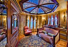 Inside Disney World's Cinderella suite