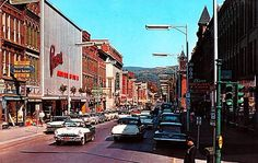 EARLY 1950s ONEONTA NY MAIN ST