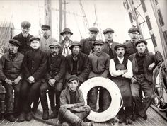 "Crew of ship ""Bencairn"", from Liverpool"