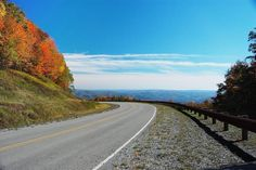 2. Highland Scenic Highway (West Virginia Route 150)