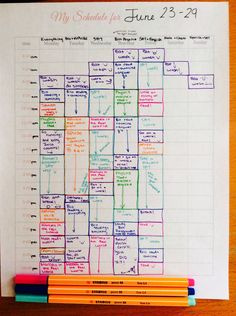 How to Lock Down your College Schedule Without Having a Meltdown ...