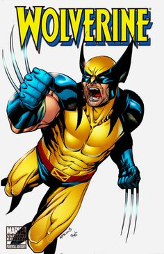 Marvel wolverine yellow brown suit - Google Search