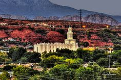 - St George Temple IV  by David Simpson