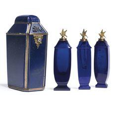A gold, lapis lazuli and gem-set scent bottle case, second half 19th century   Lot   Sotheby's