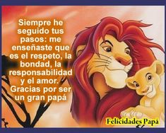 Frases dia del padre 2019 originales | El Banco de IMAGENES GRATIS I Love You Words, My Love, Good News, Message For Father, Jhon Green, Diy Dog Costumes, Believe, Disney Quotes, Spanish Quotes
