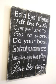 Like Crazy Wedding Sign Love Like Crazy Wood Sign Pallet Sign Country Western Sign Western Wedding Sign Western Home Decor Rustic Wood Sign Black White Do It Yourself Furniture, Do It Yourself Home, Western Furniture, Rustic Furniture, Home Decor Signs, Diy Home Decor, Decor Crafts, Diy Signs, Room Decor